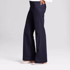 A New Day high rise dark blue denim trouser 2/26